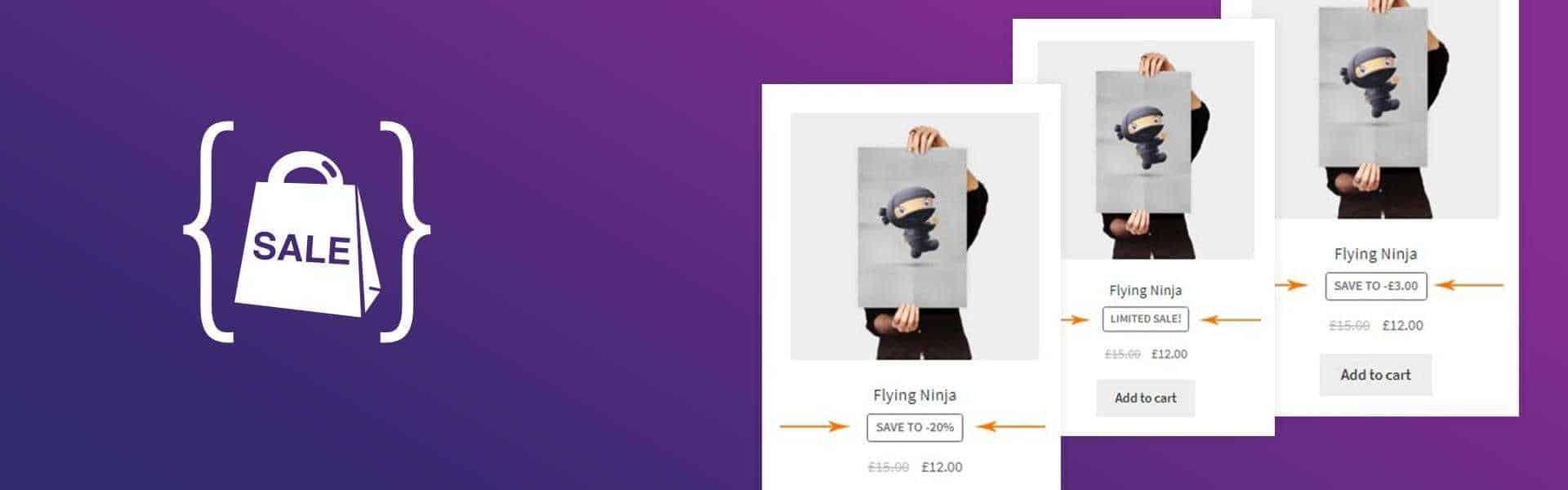 """Плагин Art Woocommerce Custom Sale. Изменяем слово """"Распродажа"""" • 1 • Финты WordPress"""