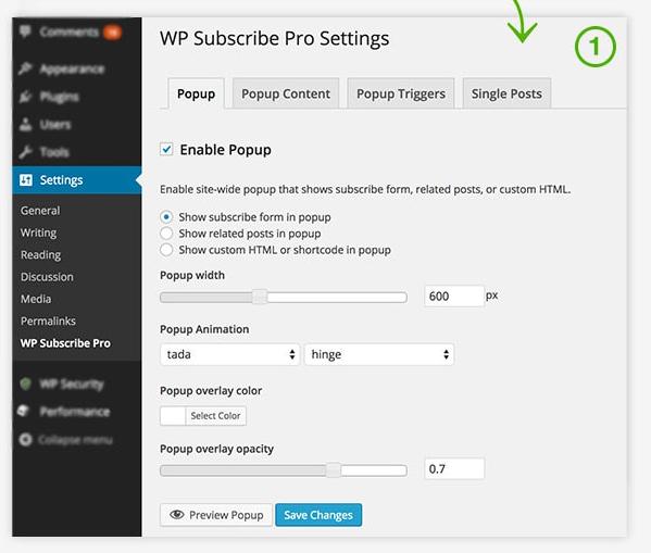 Плагин WP Subscribe Pro • 5 • Финты WordPress