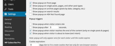 Плагин WP Subscribe Pro • 7 • Финты WordPress