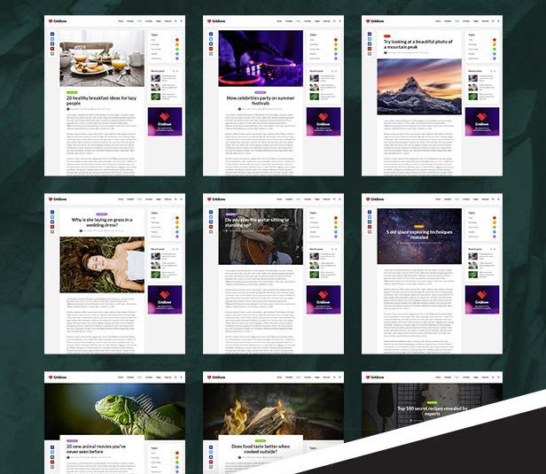 Тема GridLove • 5 • Финты WordPress